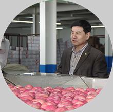 南村果园苹果中国绿色食品中心认证
